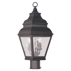 Exeter Bronze Two-Light Outdoor Post Head