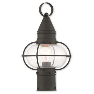 Newburyport Black One-Light 9-Inch Post Lantern