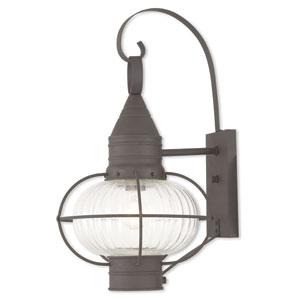 Newburyport Bronze One-Light 12-Inch Wall Lantern