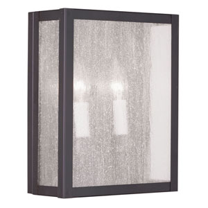 Milford Bronze Two-Light Wall Sconce