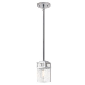 Harding Polished Chrome 5-Inch One-Light Mini Pendant