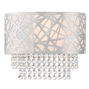 Allendale Polished Chrome 13-Inch One-Light Wall Sconce