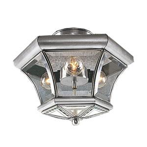 Fairfield Brushed Nickel Semi-Flush Mount
