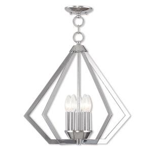 Prism Polished Chrome Five-Light Pendant