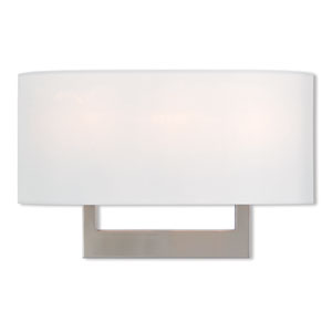 Hayworth Brushed Nickel 16-Inch Three-Light Wall Sconce