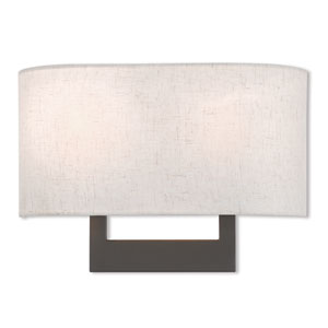 Hayworth Bronze 14-Inch Two-Light Wall Sconce