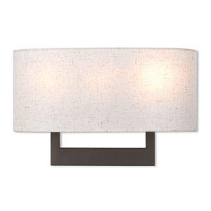 Hayworth Bronze 16-Inch Three-Light Wall Sconce