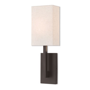 Hayworth Bronze 6-Inch One-Light Wall Sconce