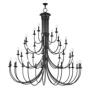 Estate Bronze 72-Inch Thirty-Eight Light Grand Foyer Chandelier