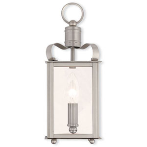 Garfield Brushed Nickel 5-Inch One-Light Bath Sconce