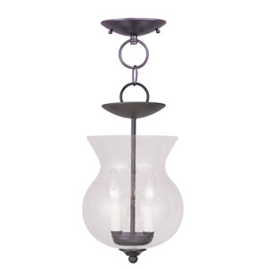 Legacy Bronze Two-Light Ceiling Mount