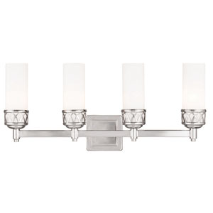 Westfield Chrome 23.5-Inch Four-Light Bath Light