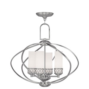 Westfield Brushed Nickel Four-Light Chandelier