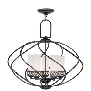 Westfield Olde Bronze Five-Light Chandelier