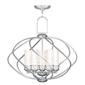 Westfield Brushed Nickel Five-Light Chandelier