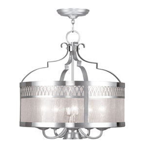 Westfield Brushed Nickel Five-Light Pendant