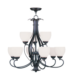 Brookside Olde Bronze Six-Light Chandelier