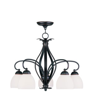 Brookside Olde Bronze Five Light Chandelier