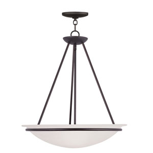 Newburgh Bronze Three-Light Pendant