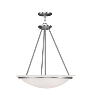 Newburgh Brushed Nickel Three-Light Pendant