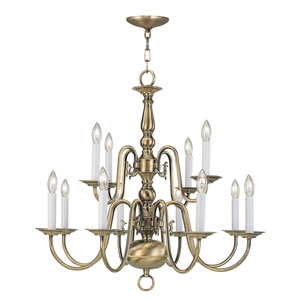 Williamsburgh Twelve-Light Chandelier