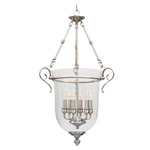 Legacy Brushed Nickel Lantern Pendant