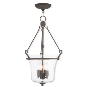 Buchanan Bronze 15.5-Inch Four-Light Pendant