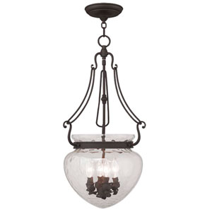 Duchess Bronze Four Light Chain Hung Pendant
