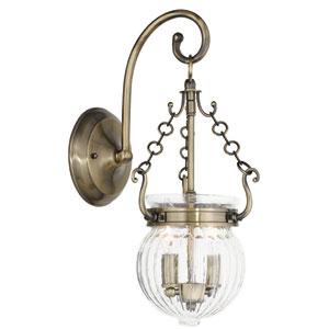 Everett Antique Brass 8.5-Inch Two-Light Bath Sconce