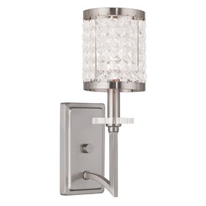 Grammercy Brushed Nickel 5-Inch One-Light Bath Sconce