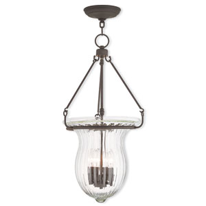 Andover Bronze 14-Inch Four-Light Pendant