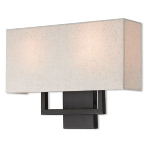 Pierson Bronze 16-Inch Two-Light Wall Sconce