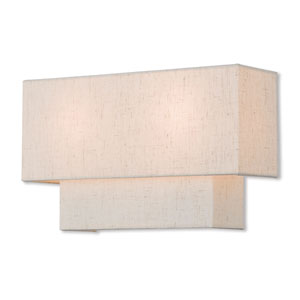 Claremont English Bronze 13-Inch Two-Light Wall Sconce