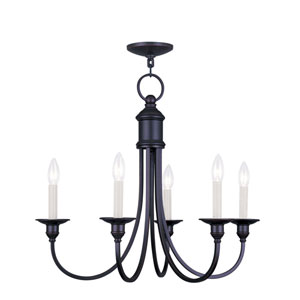 Cranford Olde Bronze Five Light Chandelier