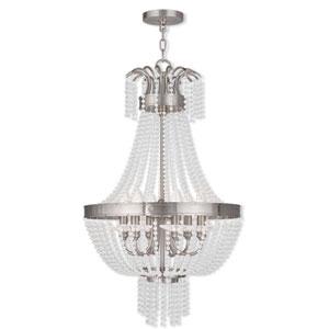 Valentina Brushed Nickel 18.5-Inch Six-Light Pendant