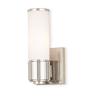 Weston Polished Nickel One-Light 5-Inch Bath Vanity