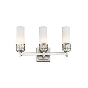 Westfield Brushed Nickel Three-Light Bath Light