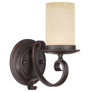 Millburn Manor Imperial Bronze One Light Wall Sconce