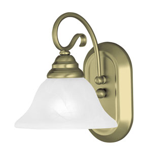 Coronado Antique Brass One Light Bath Light