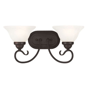 Coronado Bronze 18.5-Inch Two-Light Bath Light