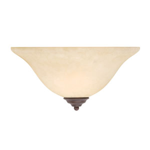 Coronado Bronze Half-Moon Wall Sconce