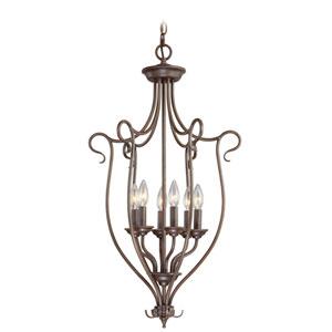 Coronado Bronze Lantern Pendant