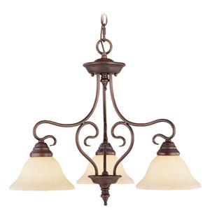 Coronado Bronze Convertible Semi-Flush Ceiling Light