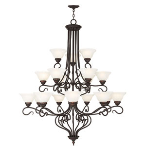 Coronado Bronze 44.5-Inch 18-Light Foyer Chandelier