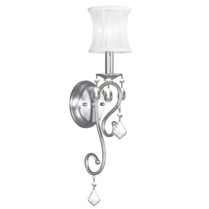Newcastle Brushed Nickel One-Light Wall Sconce