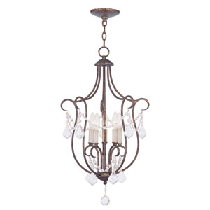 Chesterfield Venetian Golden Bronze Five Light 28-Inch Foyer