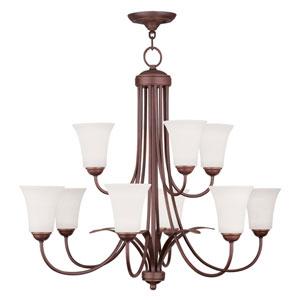 Ridgedale Vintage Bronze Six Light Chandelier