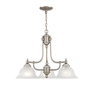 Brushed Nickel Chandelier