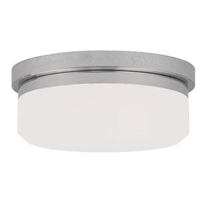 Chrome Two-Light Ceiling Mount