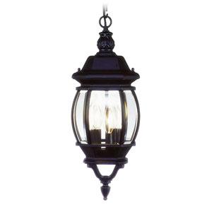 Frontenac Black Outdoor Lantern